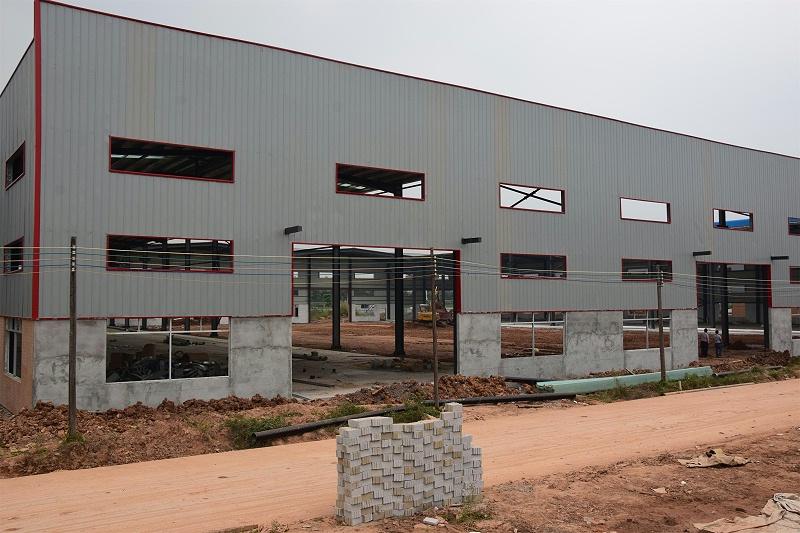 钢构厂房安装