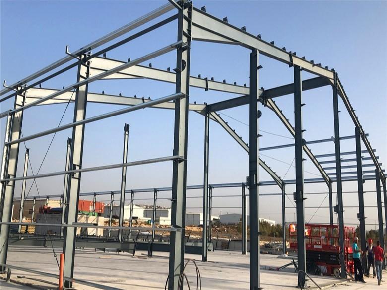 【天谱安工程案例】—— 以色列钢结构库房