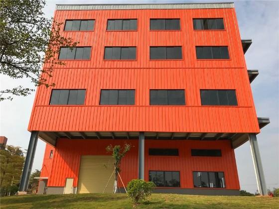 钢结构办公楼-钢结构多层建筑案例