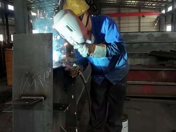 带大家简单了解钢结构加工的工艺流程