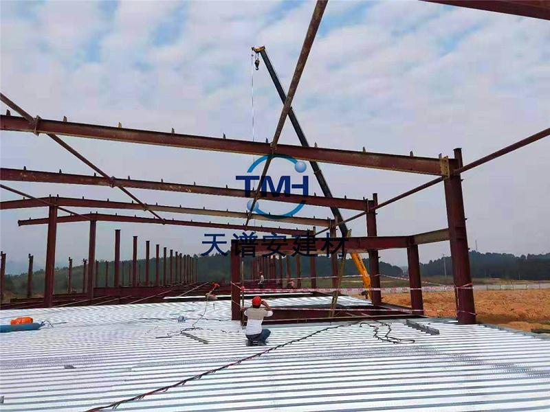 安装钢结构厂房