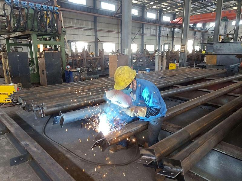佛山钢结构来料加工厂