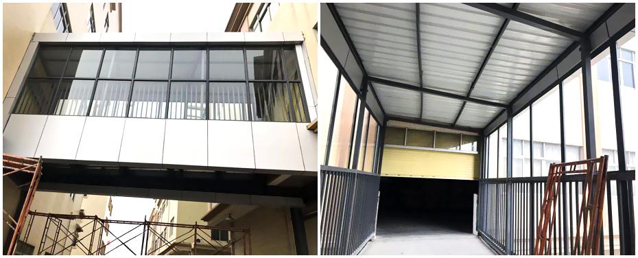 广东钢结构连廊工程案例