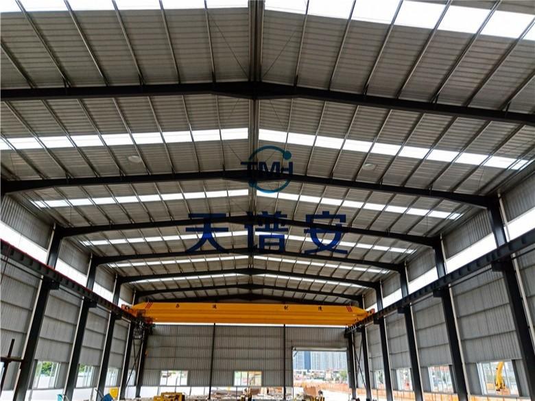 【天谱安工程案例】—— 钢结构厂房建造