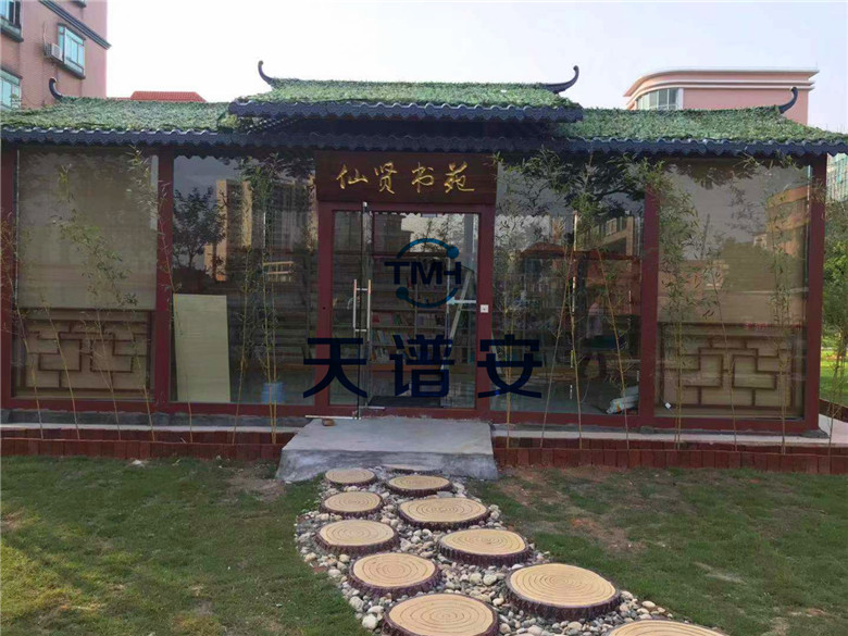 【天谱安钢结构工程案例】——江门学校图书馆