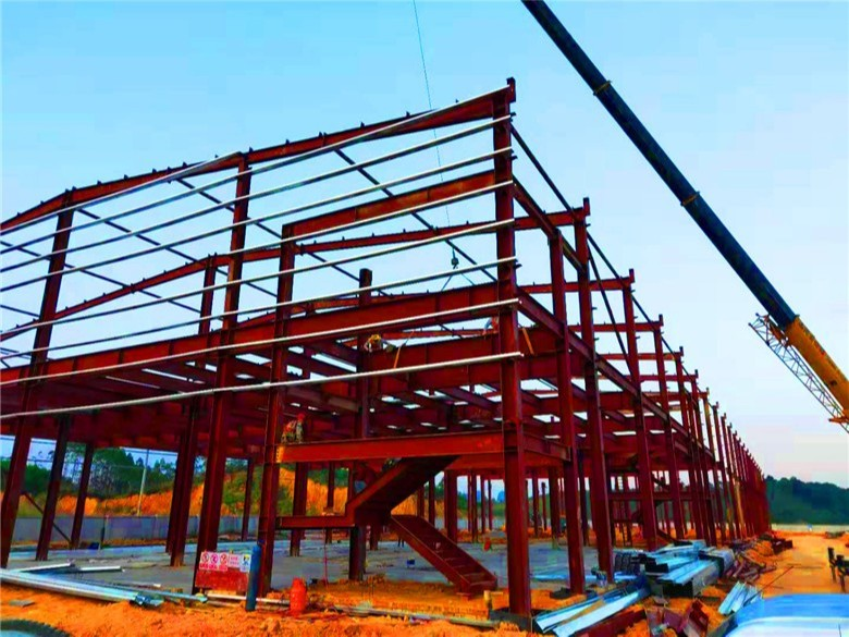 【天谱安工程案例】—— 广西智佳大健康食品有限公司钢结构车间