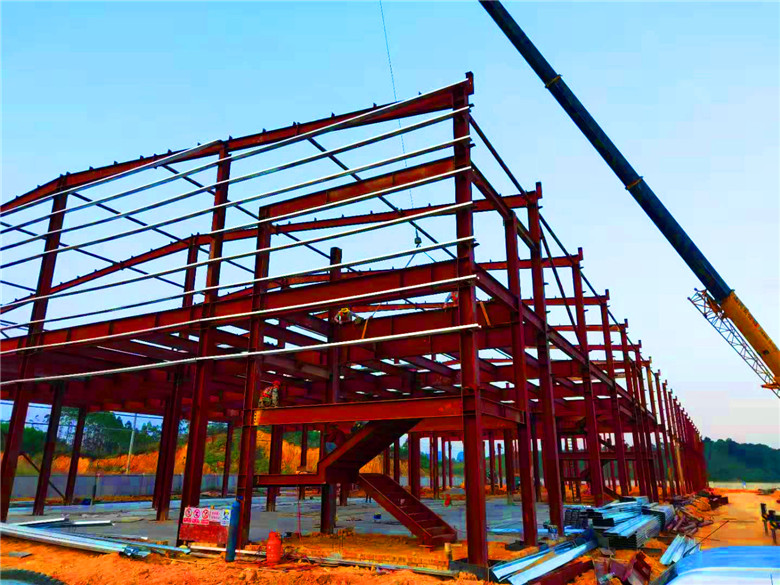 佛山钢结构车间工程案例