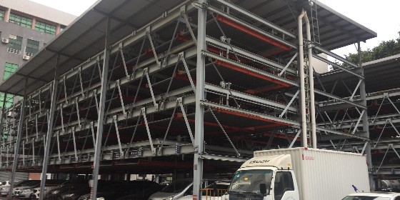 钢结构停车场