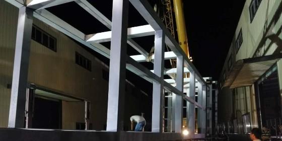 钢结构电梯井道定制
