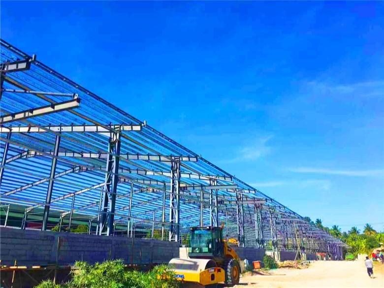 【天谱安外贸案例】—— 菲律宾大型钢结构仓库工程