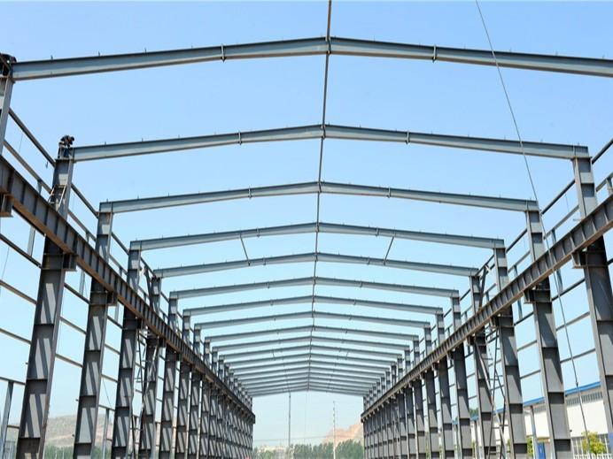 【天谱安工程案例】—— 钢结构厂房施工