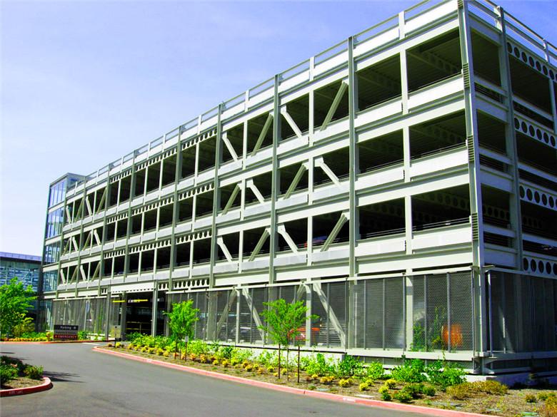 【天谱安工程案例】—— 钢结构停车场