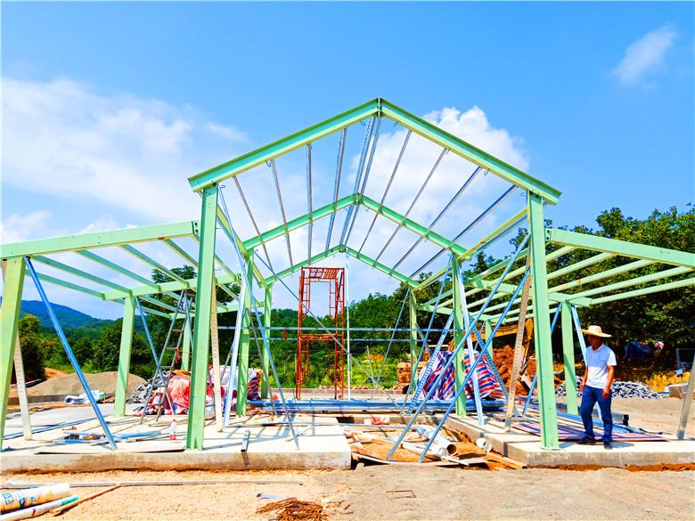 天谱安工程案例-轻钢别墅项目