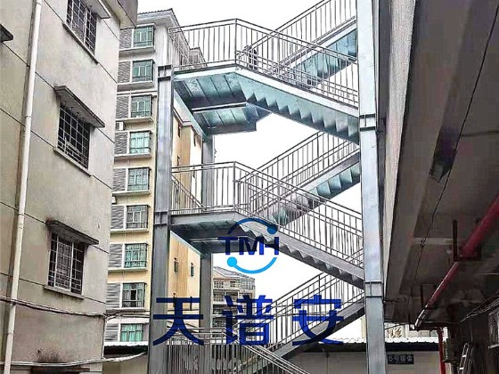 【天谱安工程案例】—— 钢结构楼梯制作