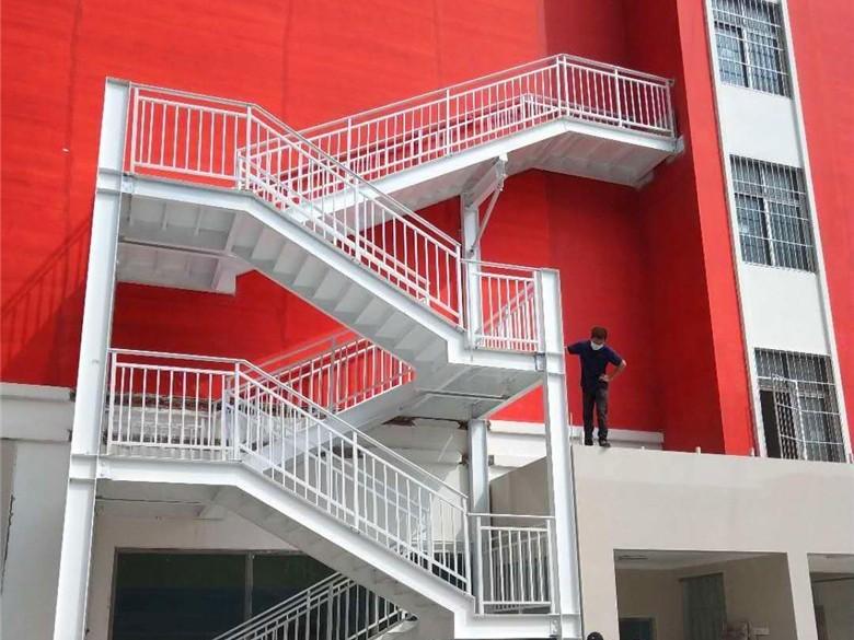 【天谱安工程案例】—— 钢结构楼梯定制