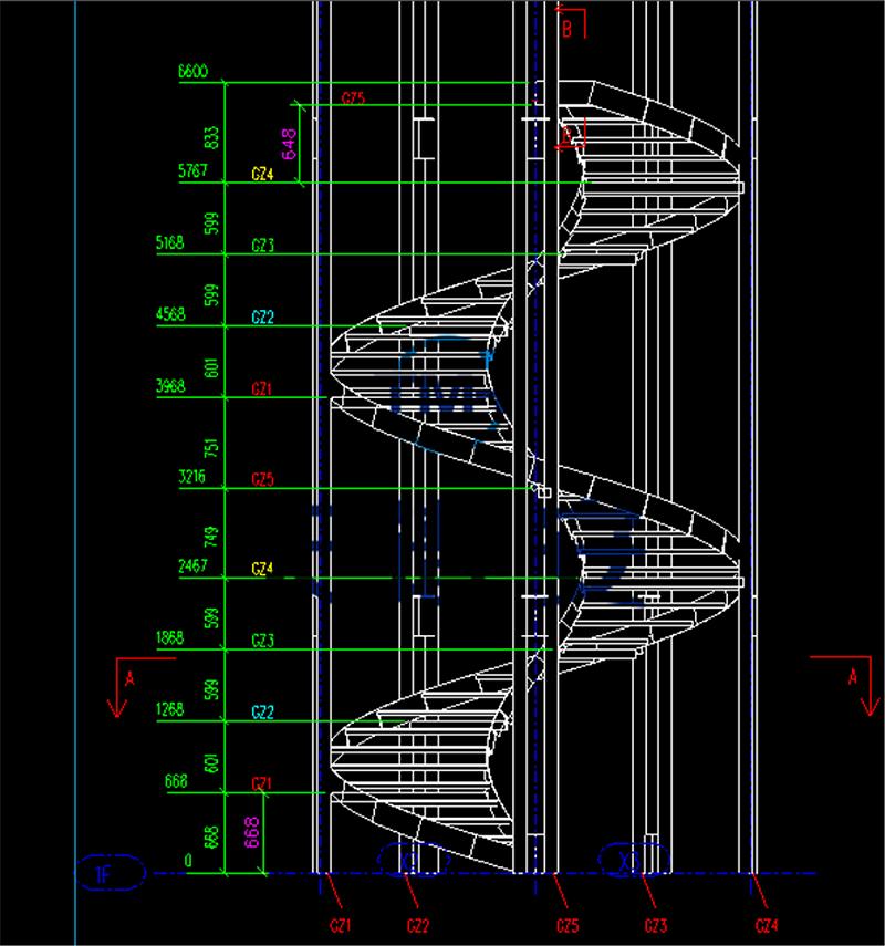 钢结构楼梯制作安装