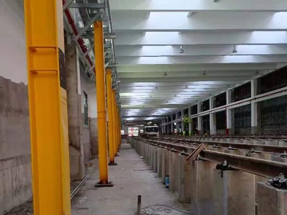 【天谱安工程】——佛山地铁三号线装配式钢结构平台