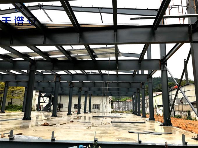 二层钢结构厂房