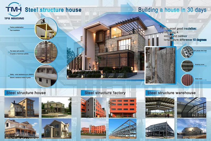 钢结构出口厂家供应