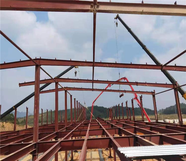 佛山天谱安钢结构厂房7