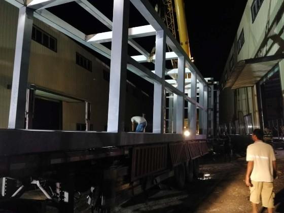 【天谱安工程案例】—— 广州旧楼加装电梯井道钢结构