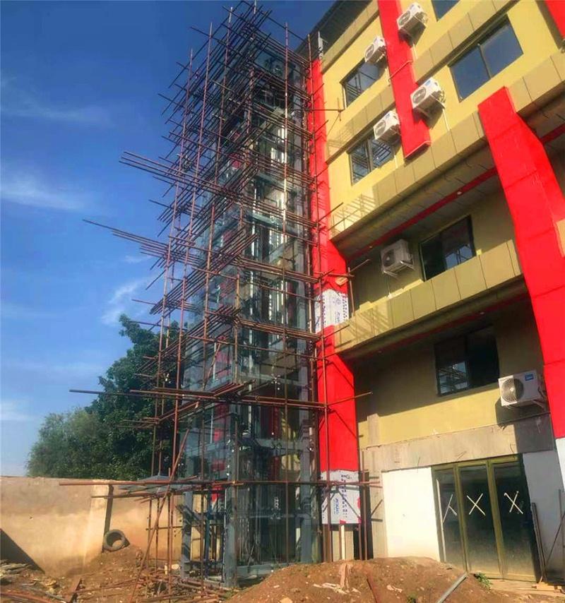 钢结构电梯井道